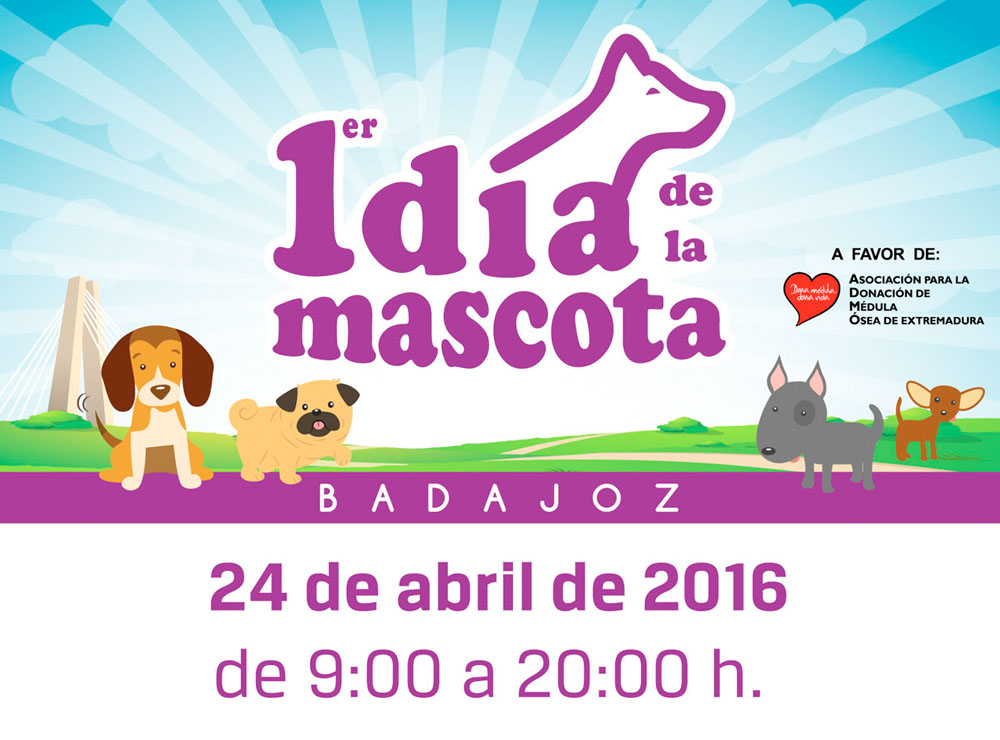 1er Día de la Mascota en Badajoz