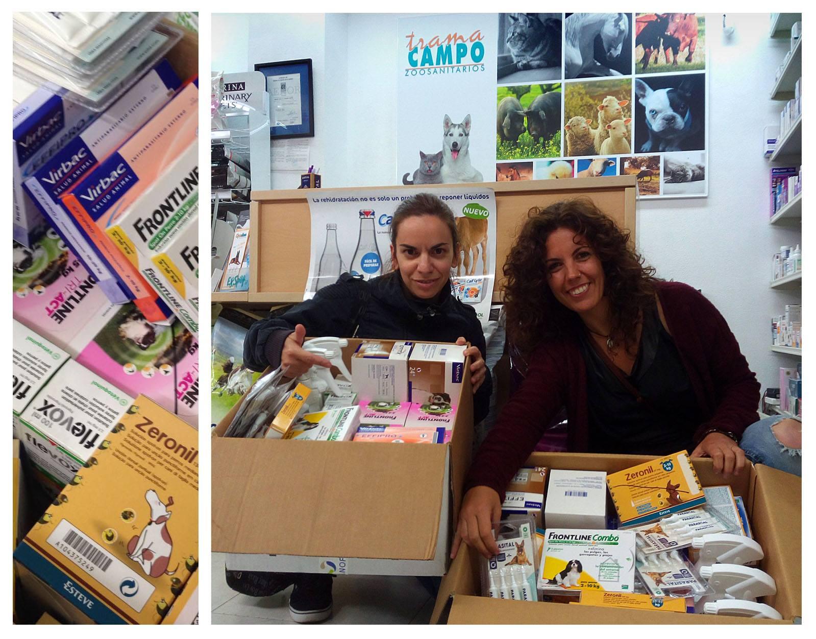 Trama Campo colabora con ADANA Badajoz y SOS Perrera Badajoz